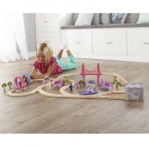The 75 Piece Fairy Town Train Set