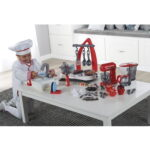 The Young Chefs Complete Working Kitchen - A set of toy kitchen appliances that accurately simulate their real counterparts