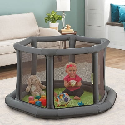 The Portable Inflatable Play Yard 1
