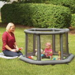 The Portable Inflatable Play Yard - Your kids perfect indoor or outdoor inflatable play yard