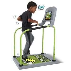 The Run Jump And Dance Interactive Gaming System - encourages children to have a series of athletic games and adventures