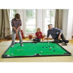 The Putting Pool Table - combines the strategy and gameply of billiards with mini-golfing skills