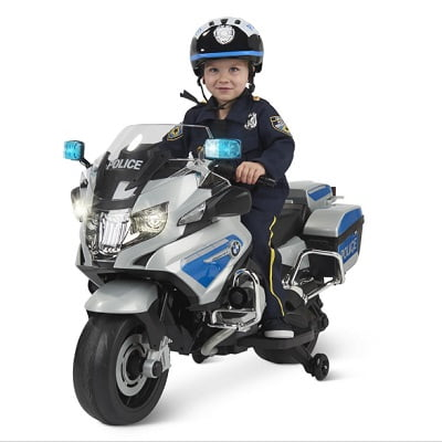 The Ride On BMW Police Motorcycle 1