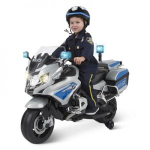 The Ride On BMW Police Motorcycle - Your kids ride-on modeled after a BMW authority motorcycle
