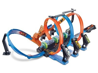 Hot Wheels Corkscrew Crash Track Set 1