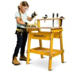 The Stanley Apprentice Workshop - Your kids perfect wood workbench complete with genuine Stanley Tools