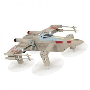 The Star Wars X-Wing Space Drone Game - A star wars drone that can be piloted for space  battle against another
