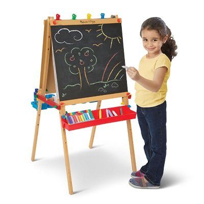 The Child's Personalized Art Easel Set 1
