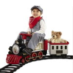 The FAO Schwarz Ride On Train - Your kids perfect ride-on train made by classic toy provider FAO Schwarz