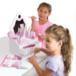 The Personalized Salon Playset - with tools for pretend makeover play to friends, dolls or stuffed animals