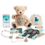 The Aspiring Doctor Award Winning Teddy Bear - A Tillywig Toy Award winner for enhancing intellectual development in children