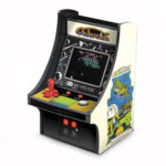 The Handheld Galaxian Arcade - brings the excitement of the popular intergalactic video game into the palm of your hand