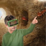 Antopia Adventure Virtual Explorer - Kids can now explore the underground world of ants with this unique VR goggles
