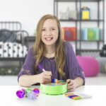 The Spinning Easter Egg Decorator - An egg decorating kit that lets your family easily create uniquely colored eggs