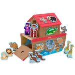 The Personalized Noah's Ark Play Set - A wooden play set based on the classic story of Noah and his ark