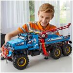 LEGO Technic 6x6 Remote Control All Terrain Tow Truck - Equipped with host of authentic features