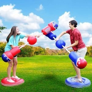 The Inflatable Jousting Bopper Game - Pits two gladiators in a battle of balance, strength and speed