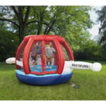 The Interactive Spaceship Bouncer - An inflatable bouncer with interactive stars