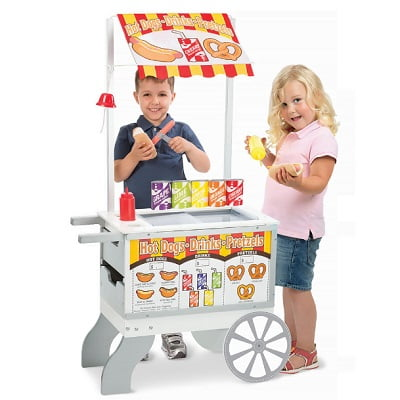 Personalized Child's Food Cart 1