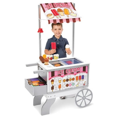 Personalized Child's Food Cart
