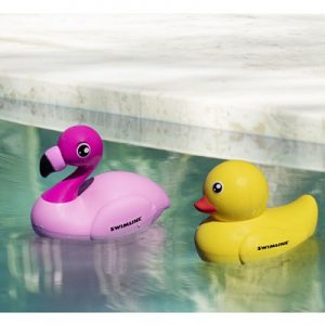 The Remote Controlled Duck And Flamingo - waddle their way over the water at your kids command