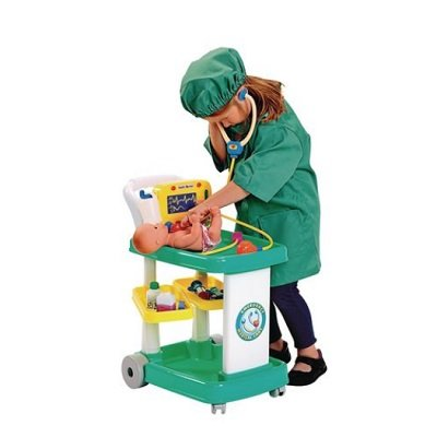 Rolling Doctor Cart and Accessories 1