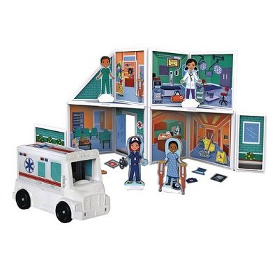 Magnetic Building Hospital Play Set 1