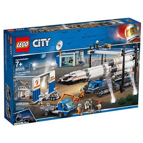 LEGO City Rocket Assembly Transport 1