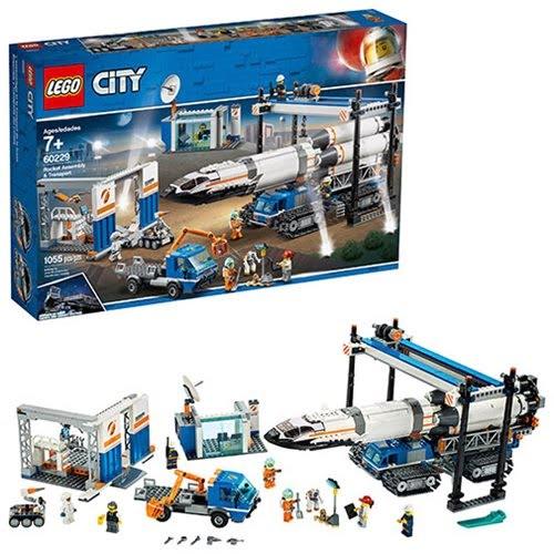 LEGO City Rocket Assembly Transport