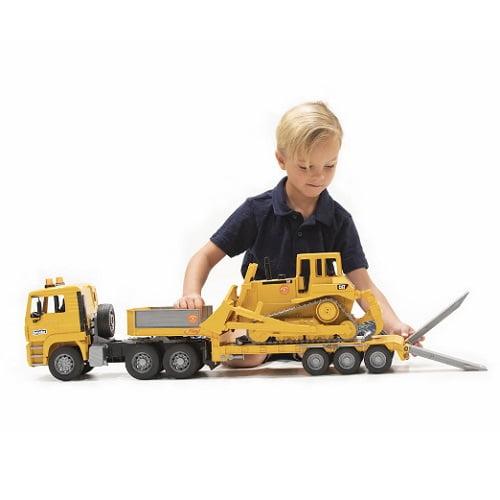 Caterpillar Bulldozer Low Loader Truck1