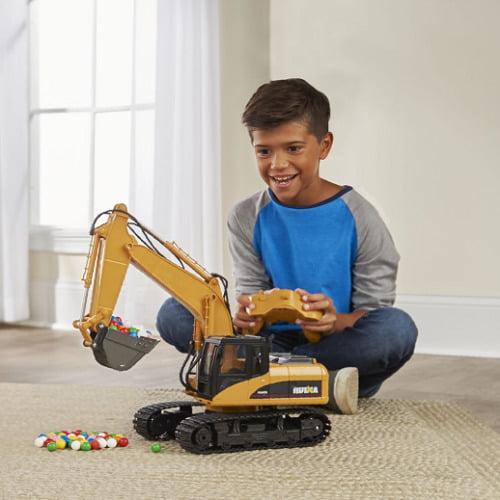 RC Working Excavator1