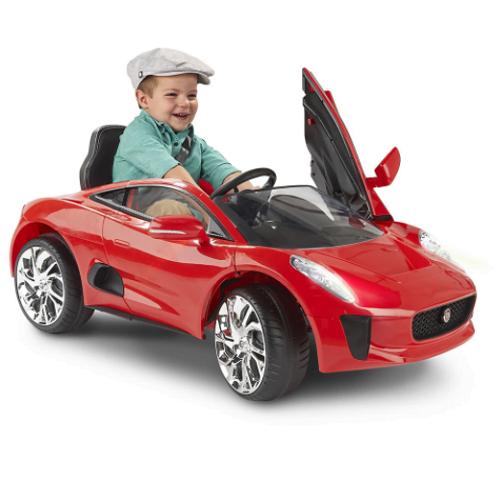 Ride on Jaguar Convertible