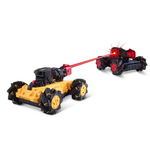 Laser Battling RC Cars1