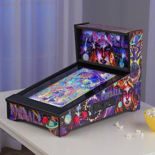 Tabletop Virtual Pinball Machine