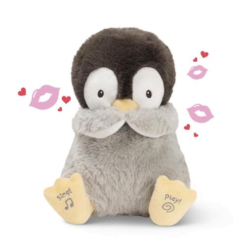 Kiss Blowing Singing Penguin