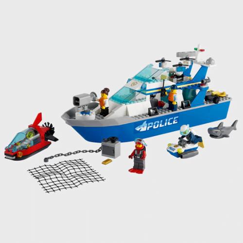 LEGO-City-Police-Patrol-Boat