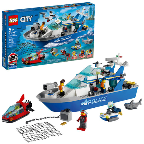 LEGO City Police Patrol Boat1