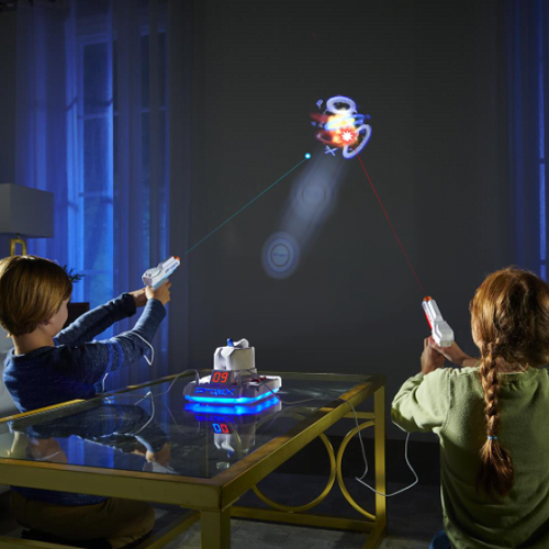 Wall-Projecting-Virtual-Target-Game