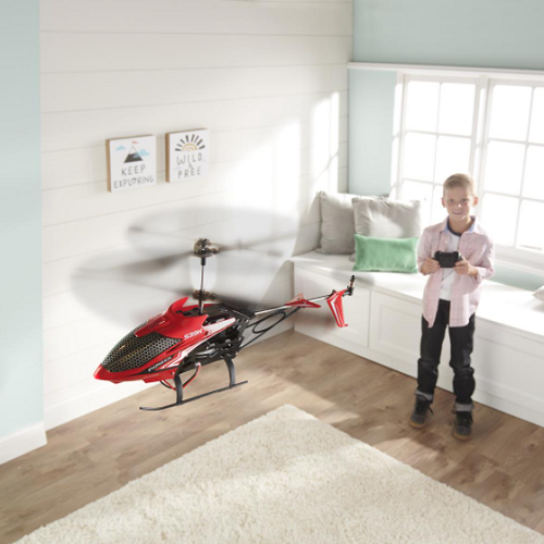 Auto-Hovering-RC-Helicopter